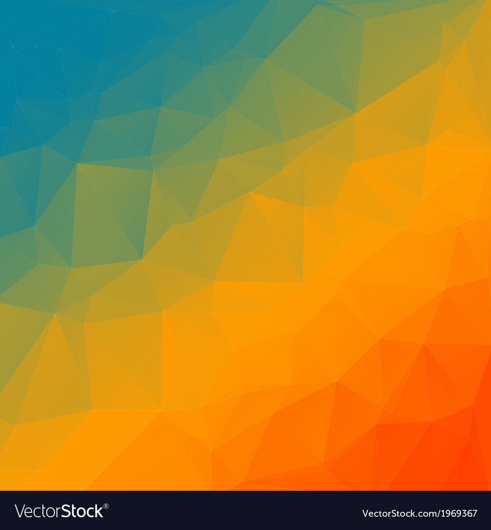 Abstract rainbow triangle background vector | Price: 1 Credit (USD $1)