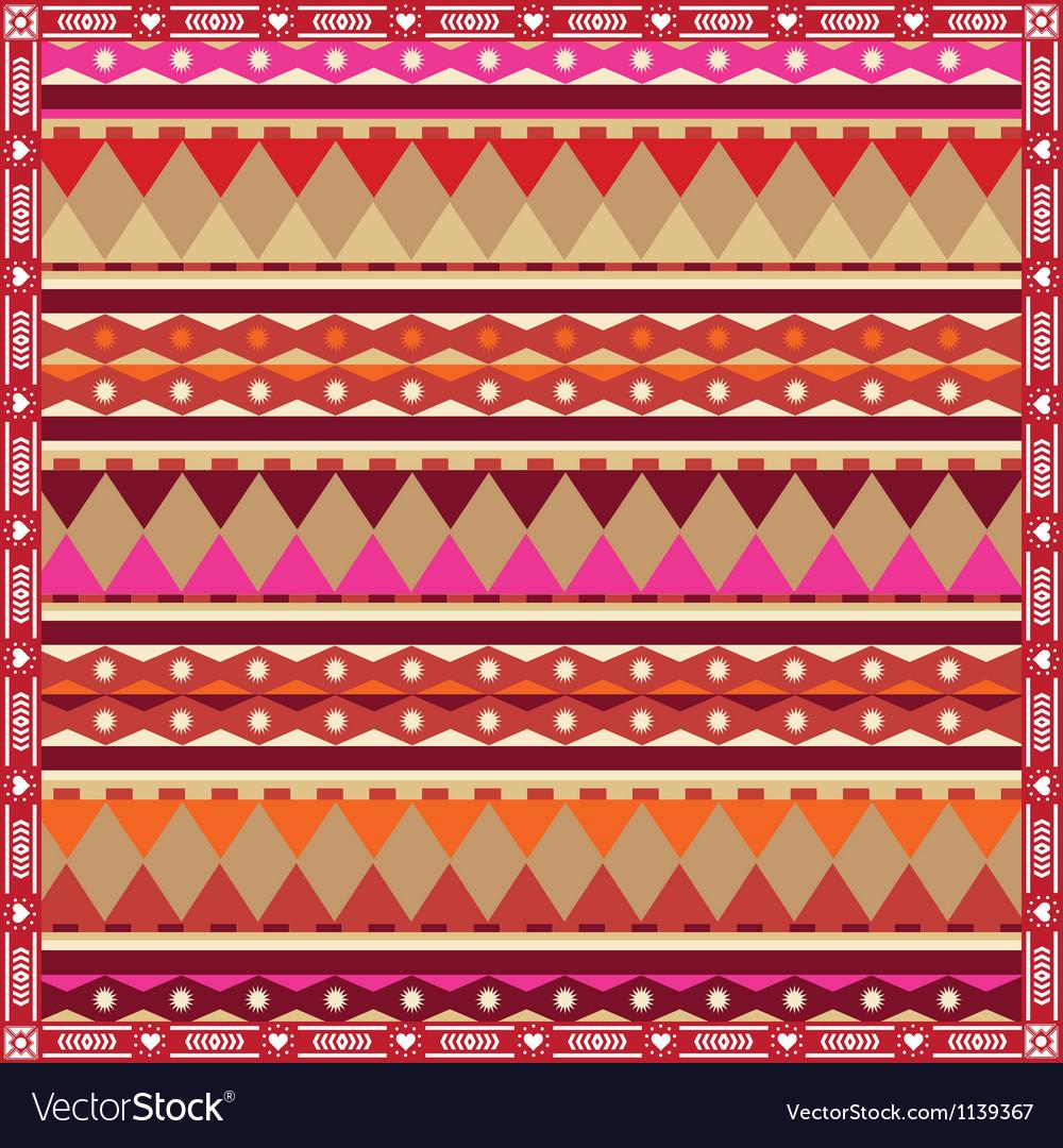 Ornamental spring poster vector | Price: 1 Credit (USD $1)