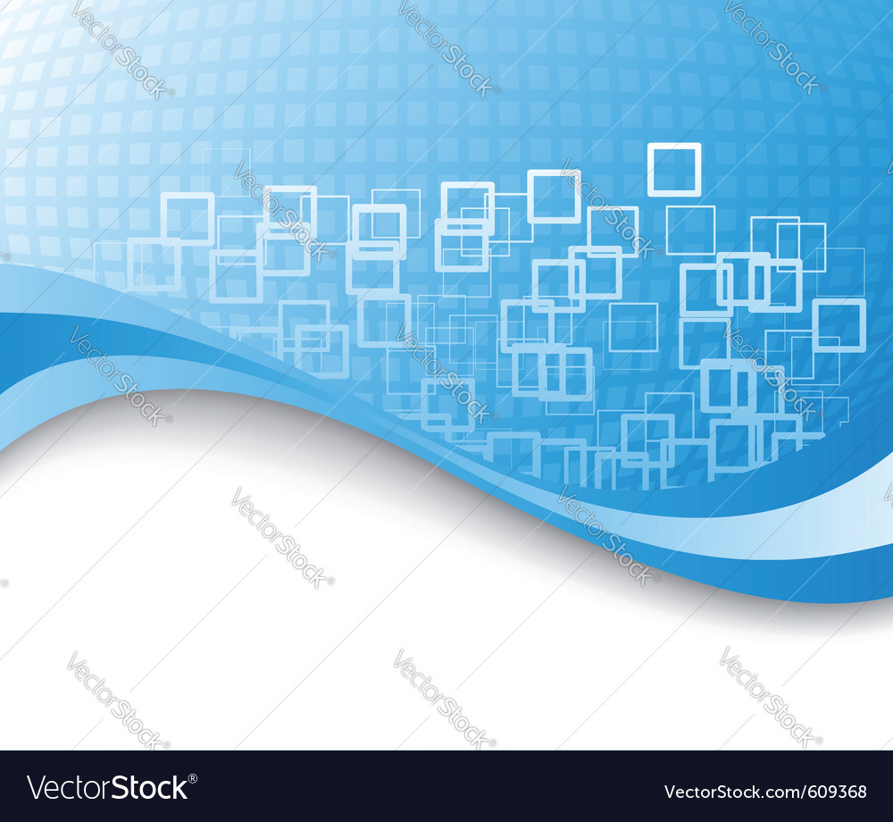 Blue colored business background vector | Price: 1 Credit (USD $1)