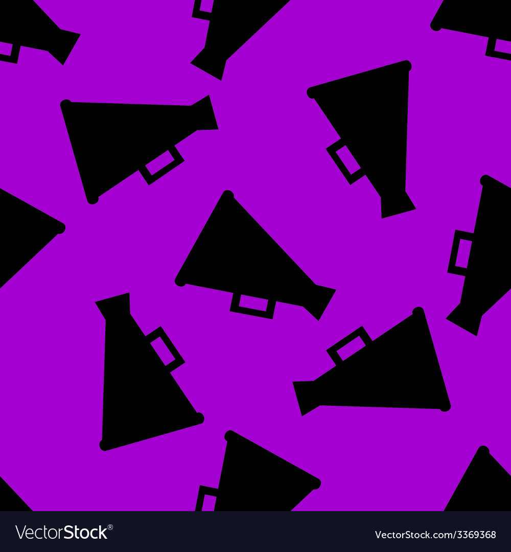 Megaphone loud-hailer web icon flat design vector | Price: 1 Credit (USD $1)
