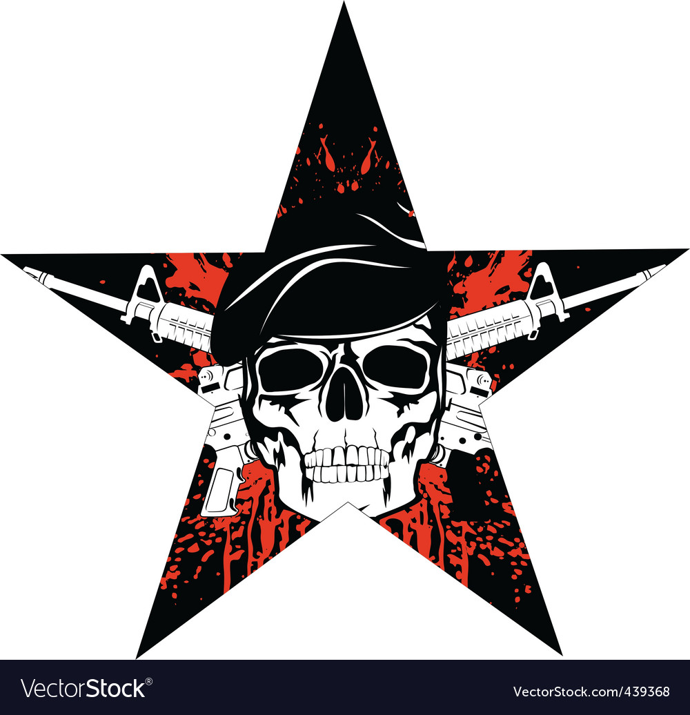 Skull vector | Price:  Credit (USD $)