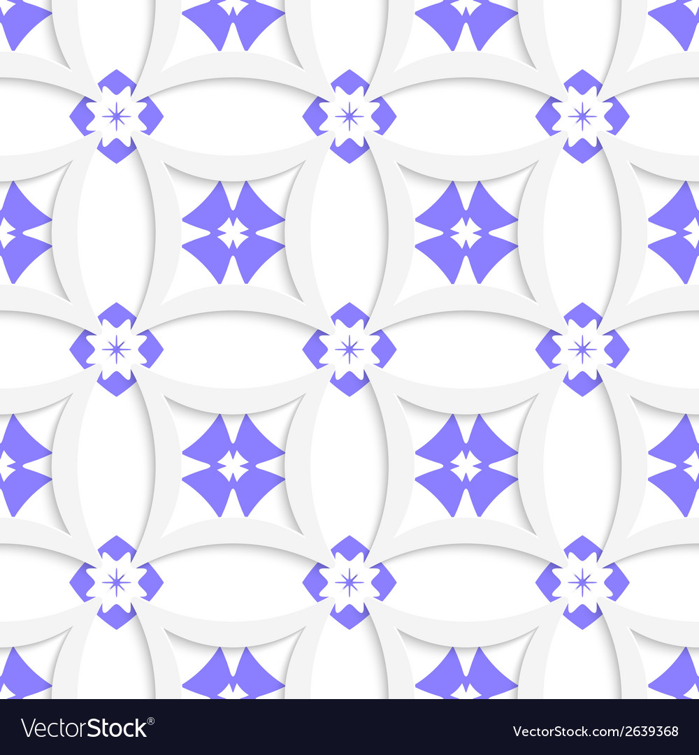 White rhombuses and blue layering vector | Price: 1 Credit (USD $1)