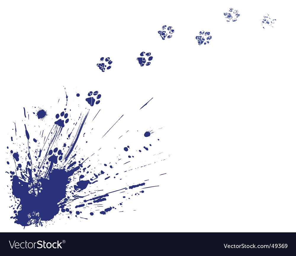 Cat spill vector | Price: 1 Credit (USD $1)