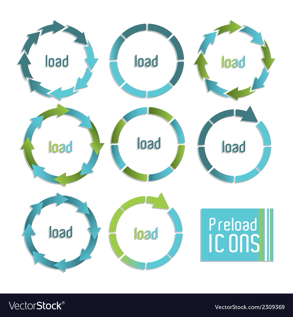 Load icons vector | Price: 1 Credit (USD $1)