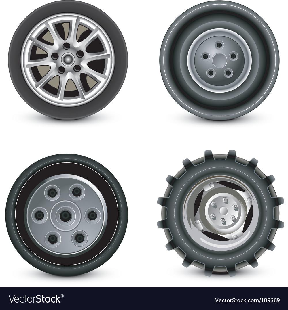 Wheels vector | Price: 1 Credit (USD $1)