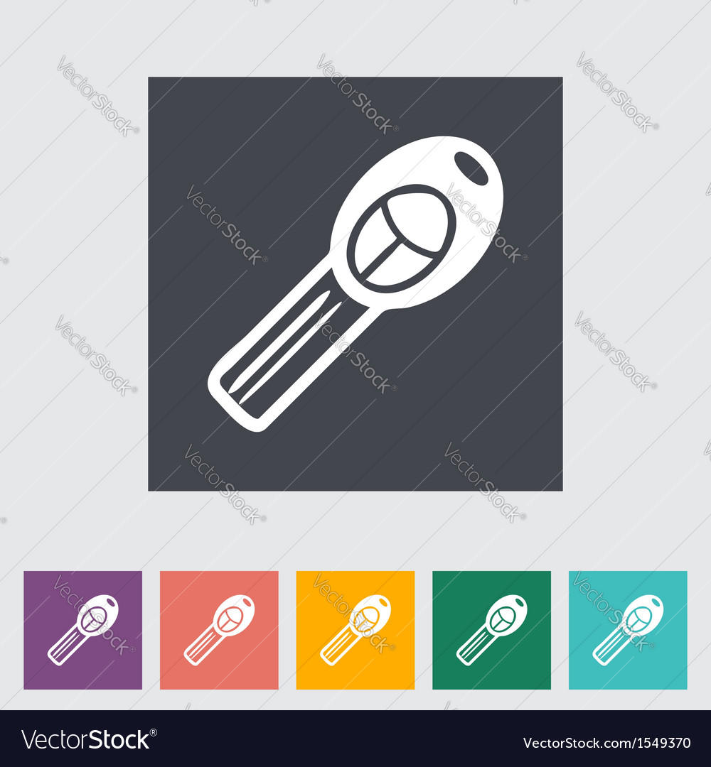 Ignition key vector | Price: 1 Credit (USD $1)