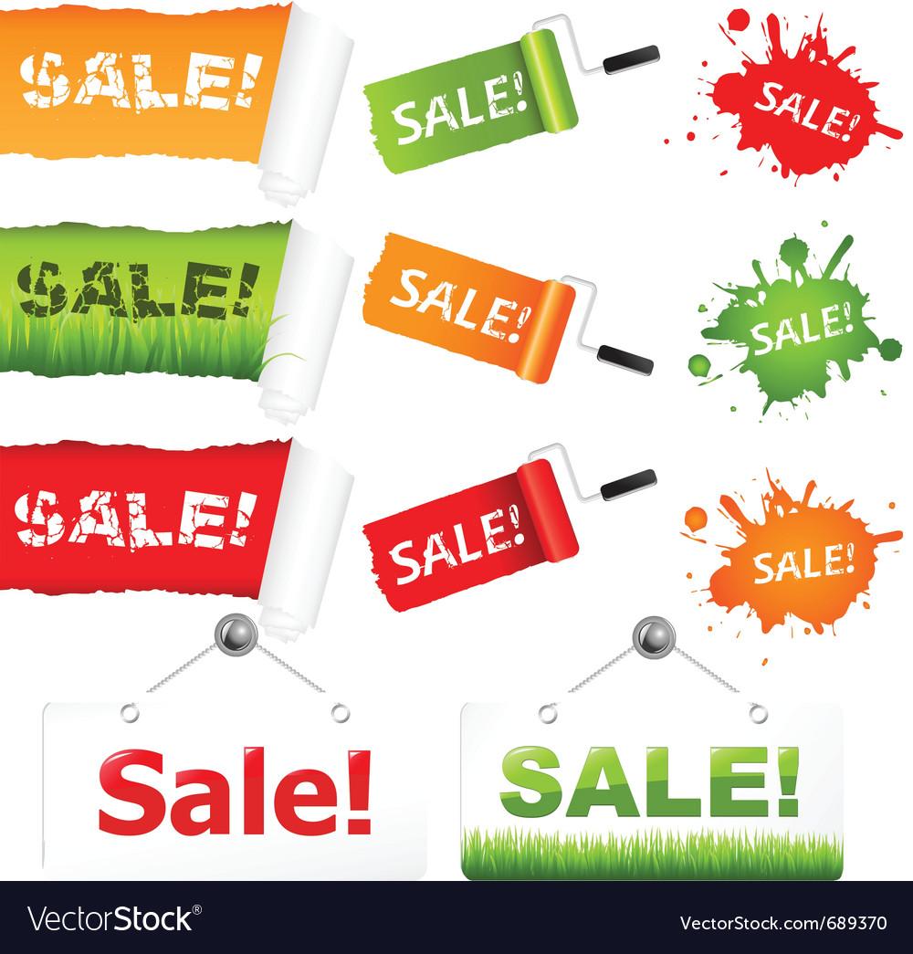 Sale elements vector   Price: 1 Credit (USD $1)