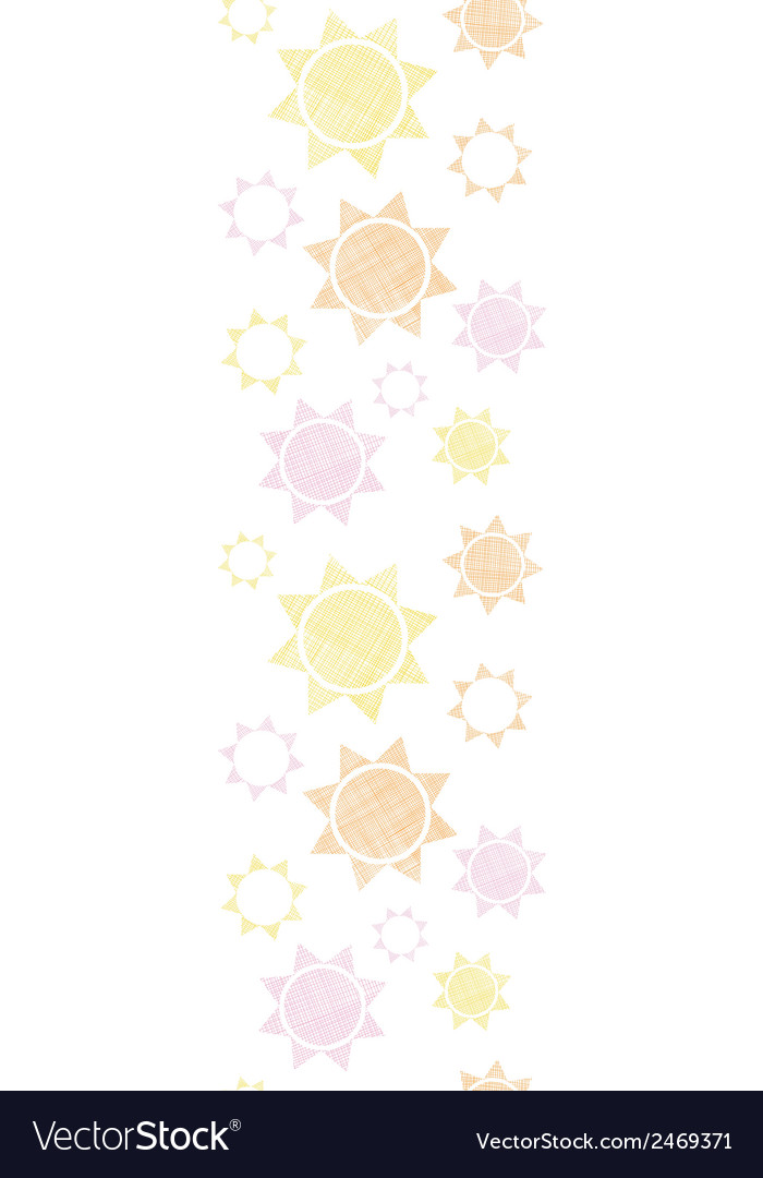 Abstract textile colroful suns geometric vertical vector | Price: 1 Credit (USD $1)