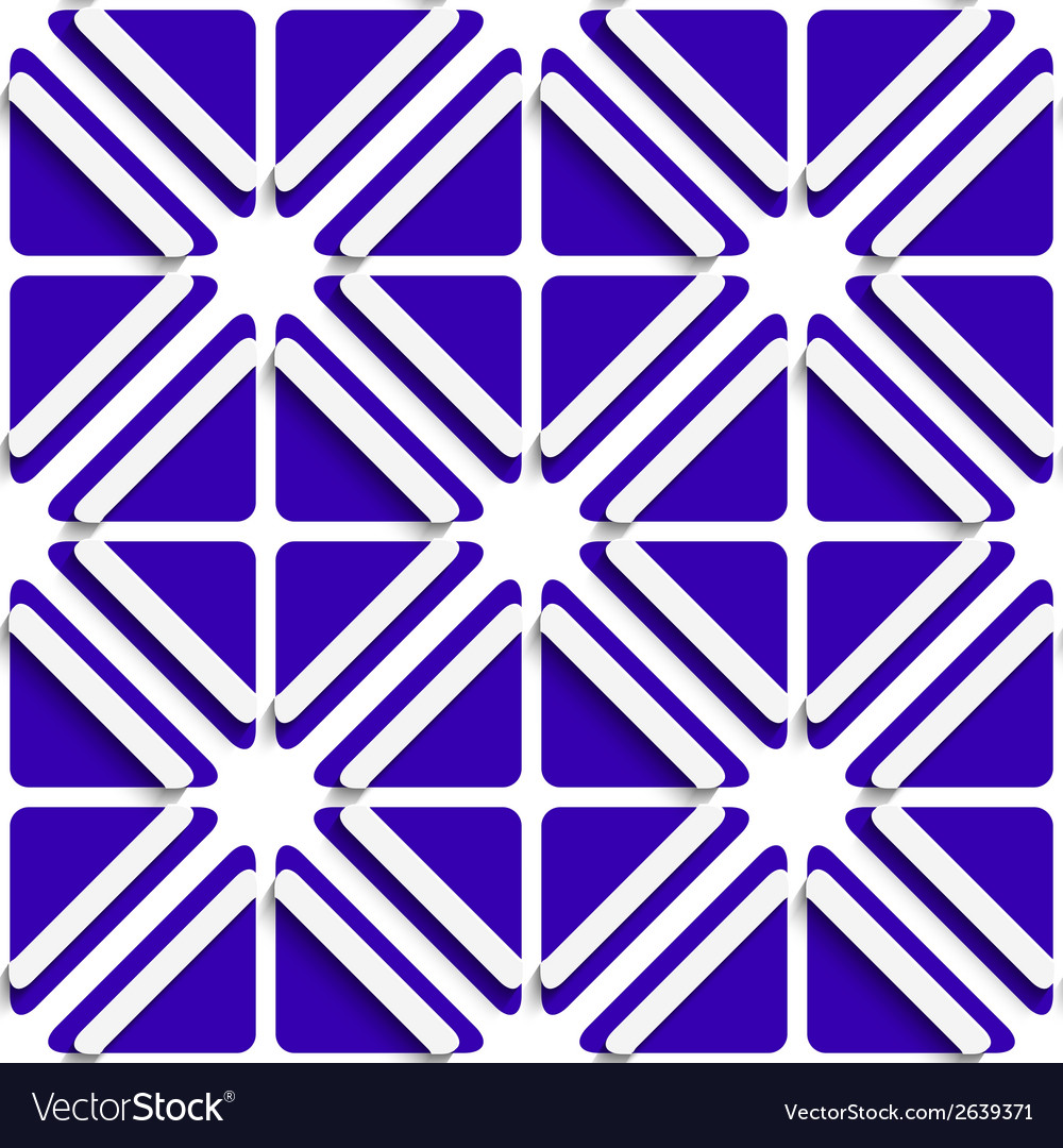 Diagonal white frames and deep blue pattern vector | Price: 1 Credit (USD $1)