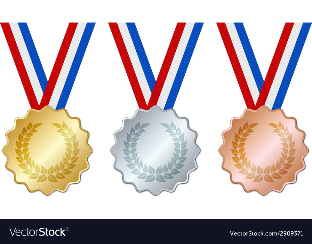 Medals vector | Price: 1 Credit (USD $1)