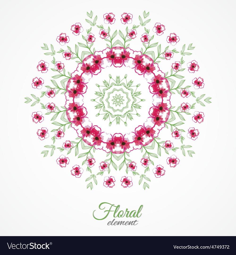 Roundflowers vector   Price: 1 Credit (USD $1)