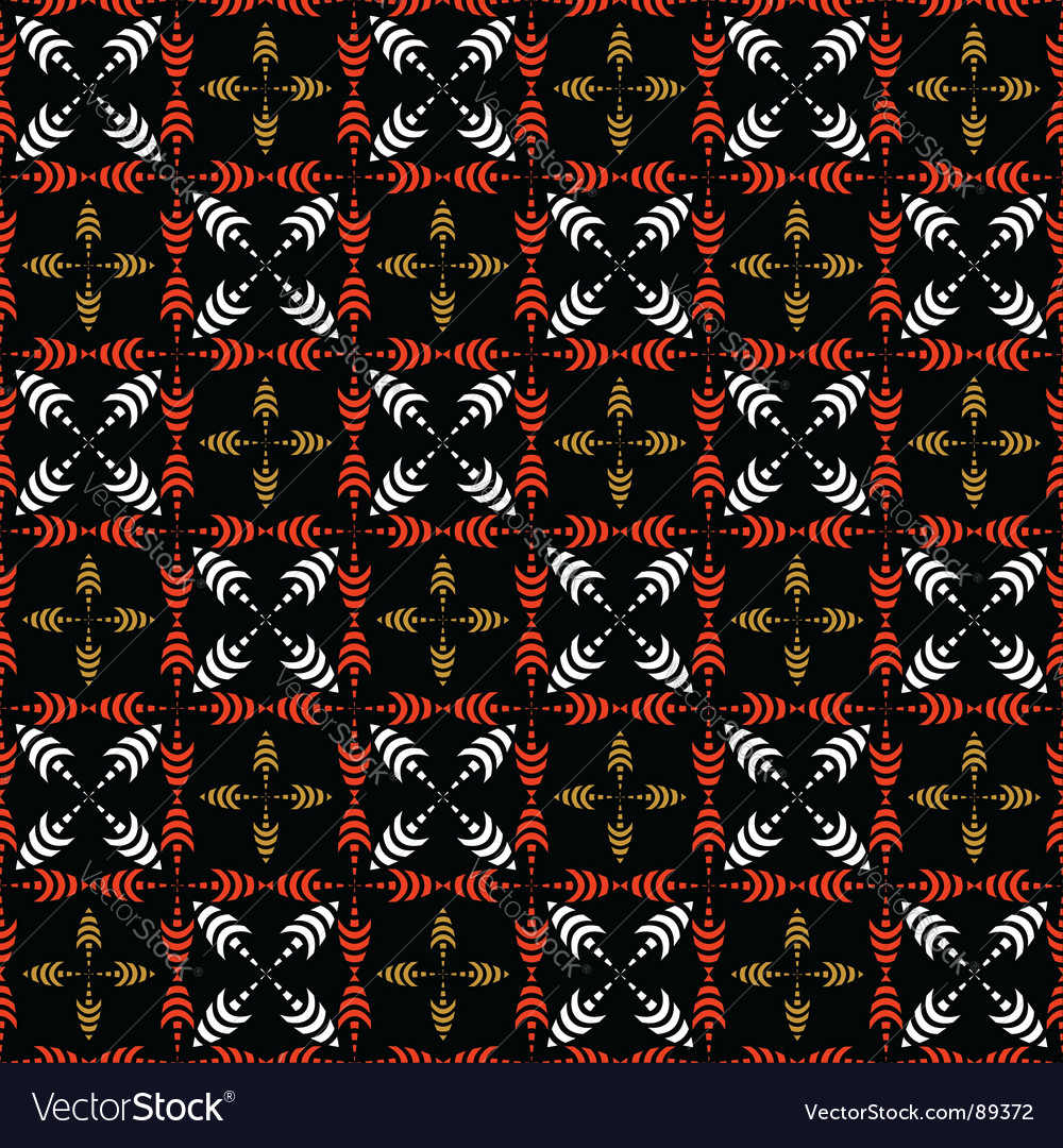 Seamless checked pattern with crosses vector | Price: 1 Credit (USD $1)