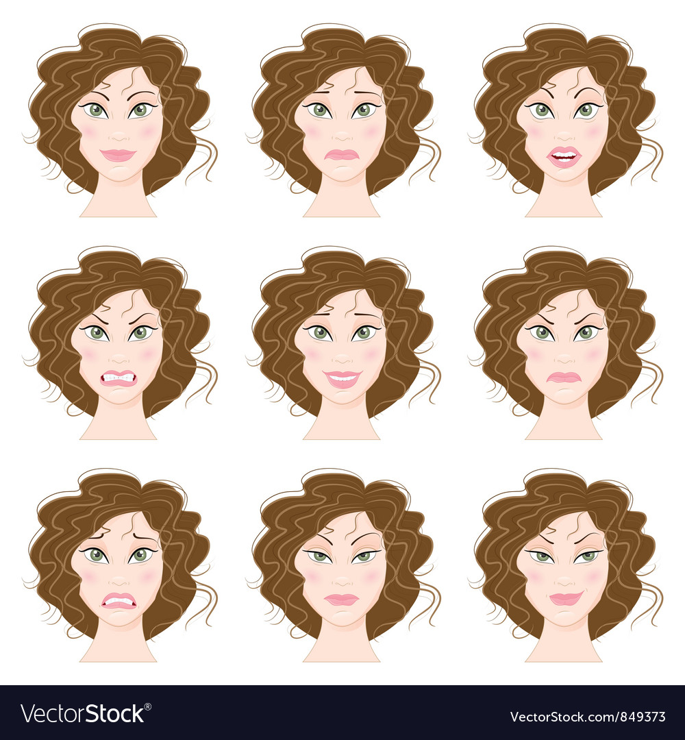 Emotions vector | Price: 3 Credit (USD $3)