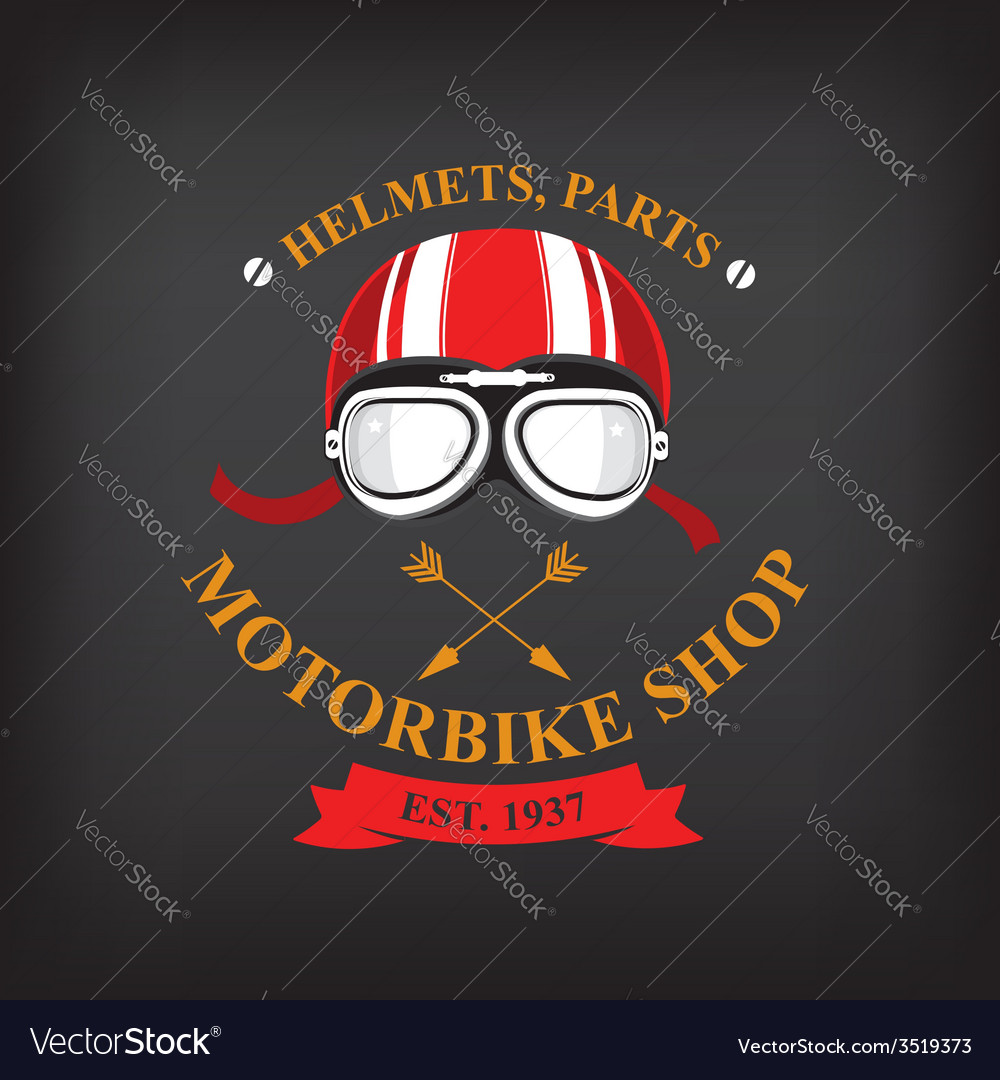 Label motorbike shop vector | Price: 1 Credit (USD $1)