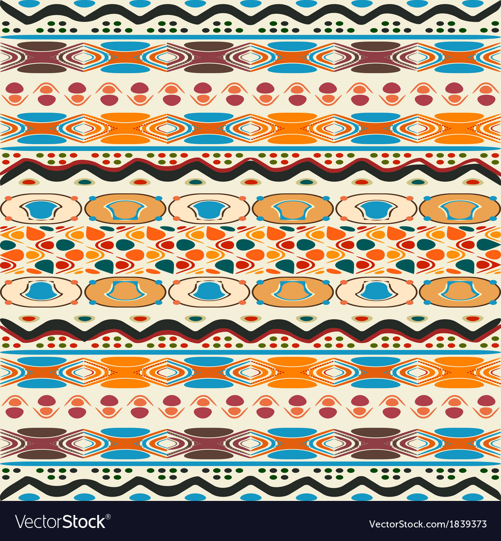 Tribal ethnic vector | Price: 1 Credit (USD $1)