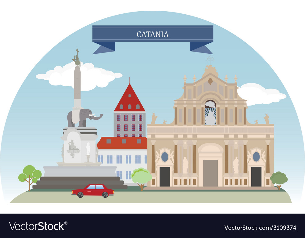 Catania vector | Price: 1 Credit (USD $1)