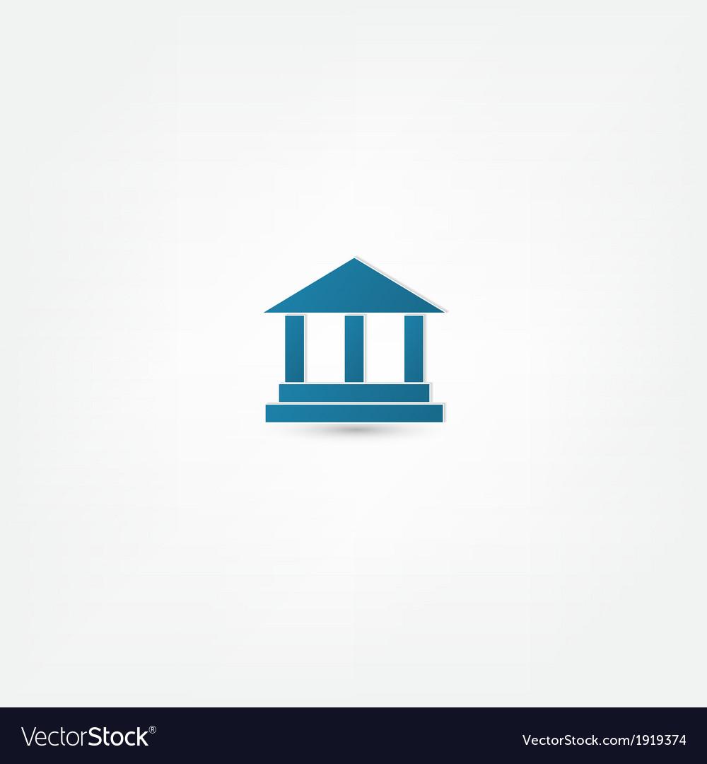 Pillar icon vector | Price: 1 Credit (USD $1)