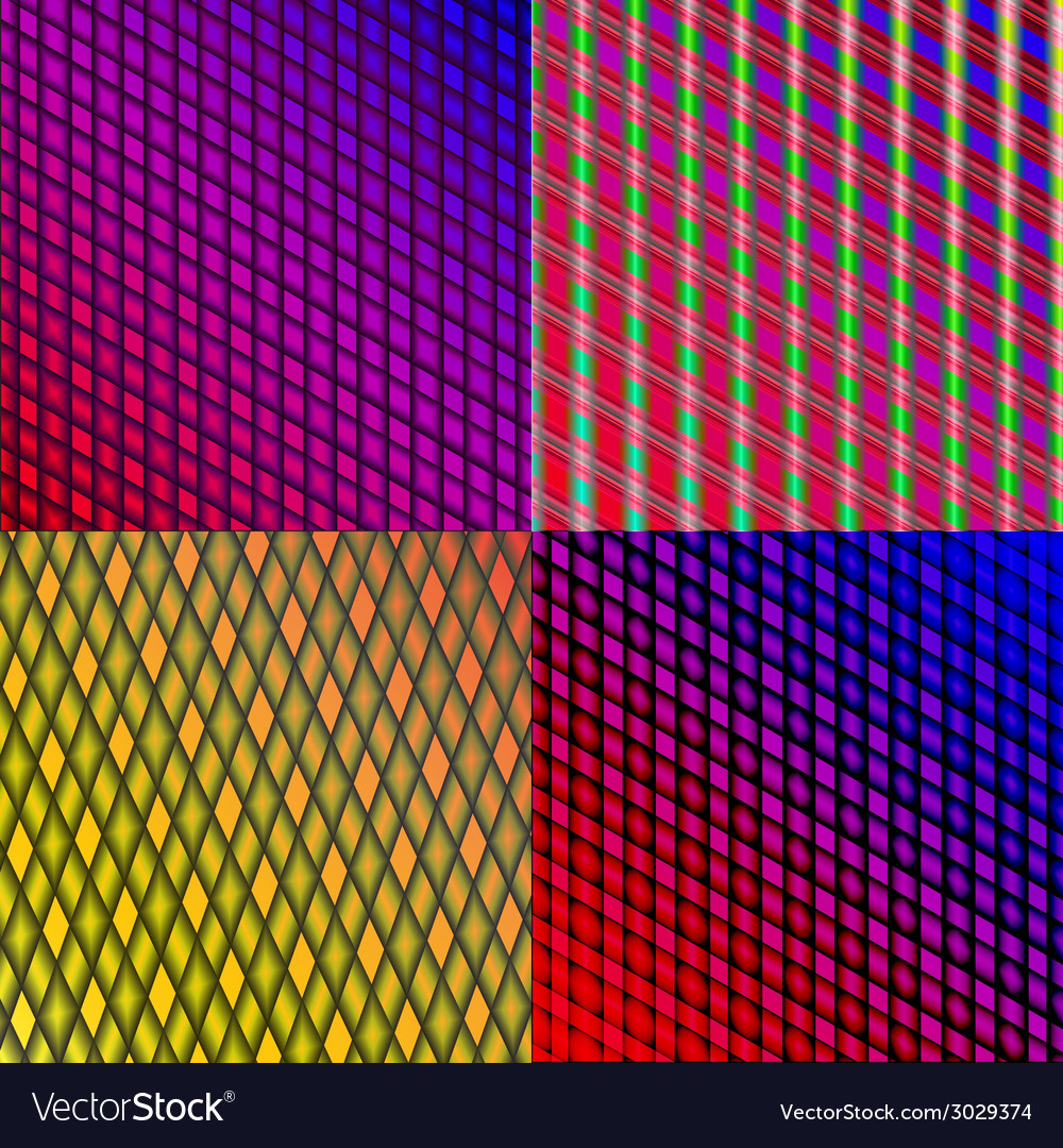 Set of stylized abstract background glowing lines vector   Price: 1 Credit (USD $1)