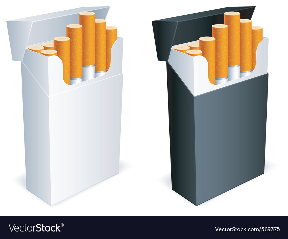 Cigarette pack vector | Price: 3 Credit (USD $3)