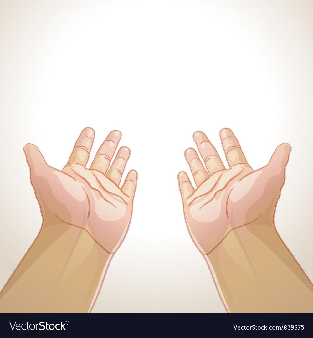 Hands vector | Price: 3 Credit (USD $3)