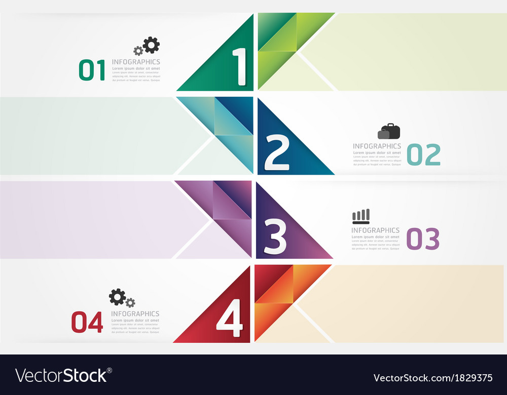 Modern design minimal style infographic template vector   Price: 1 Credit (USD $1)
