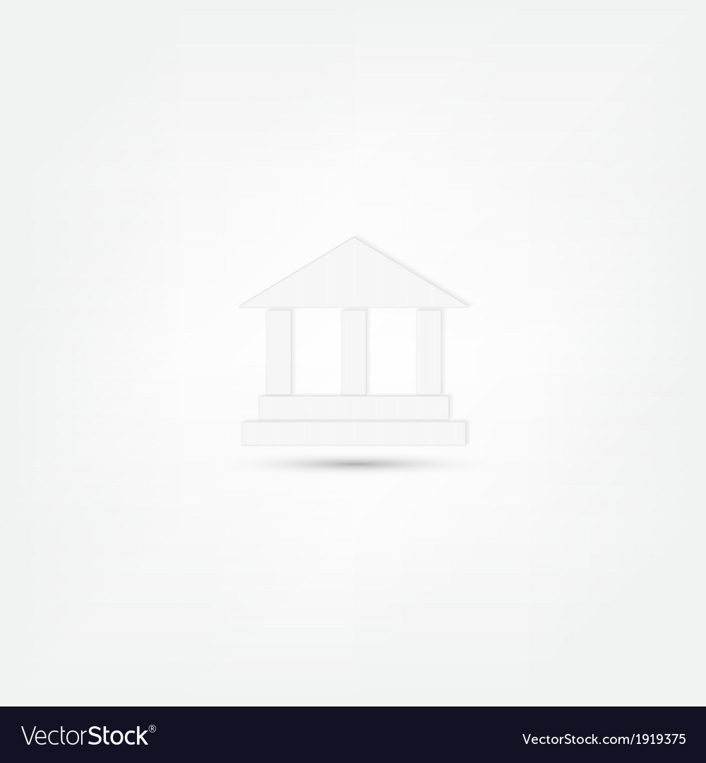 Pillar icon vector | Price: 1 Credit (USD $1)