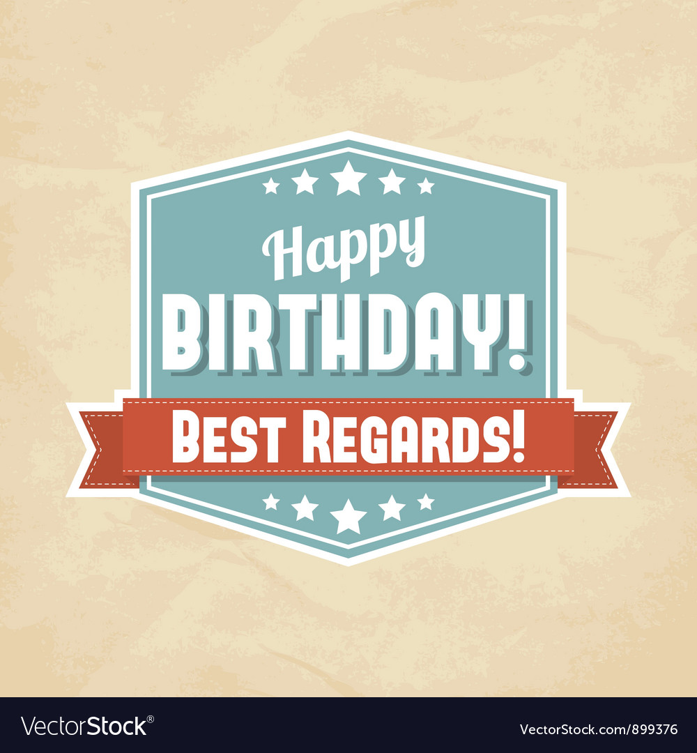 Happy birthday card vector | Price: 3 Credit (USD $3)
