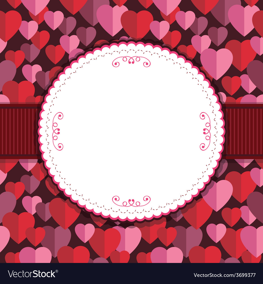 Valentine frame vector | Price: 1 Credit (USD $1)