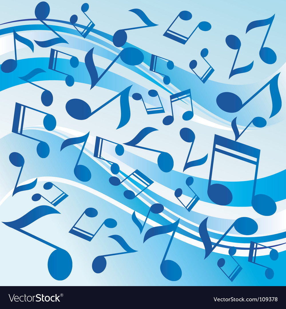 Dancing notes vector | Price: 1 Credit (USD $1)