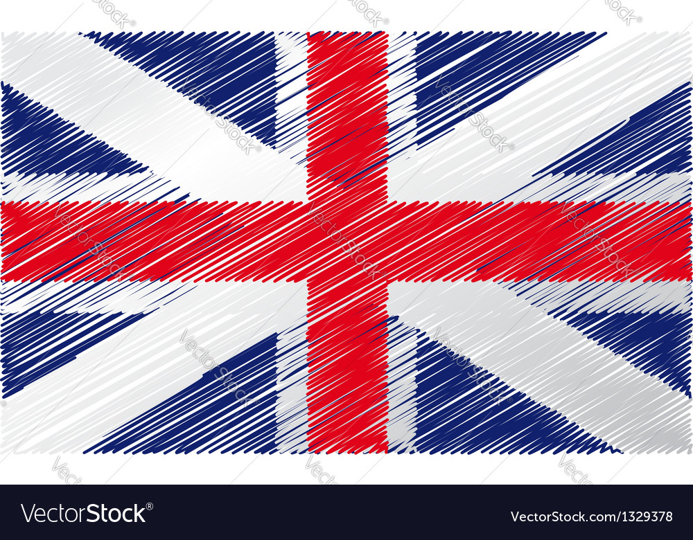 England flag vector | Price: 1 Credit (USD $1)