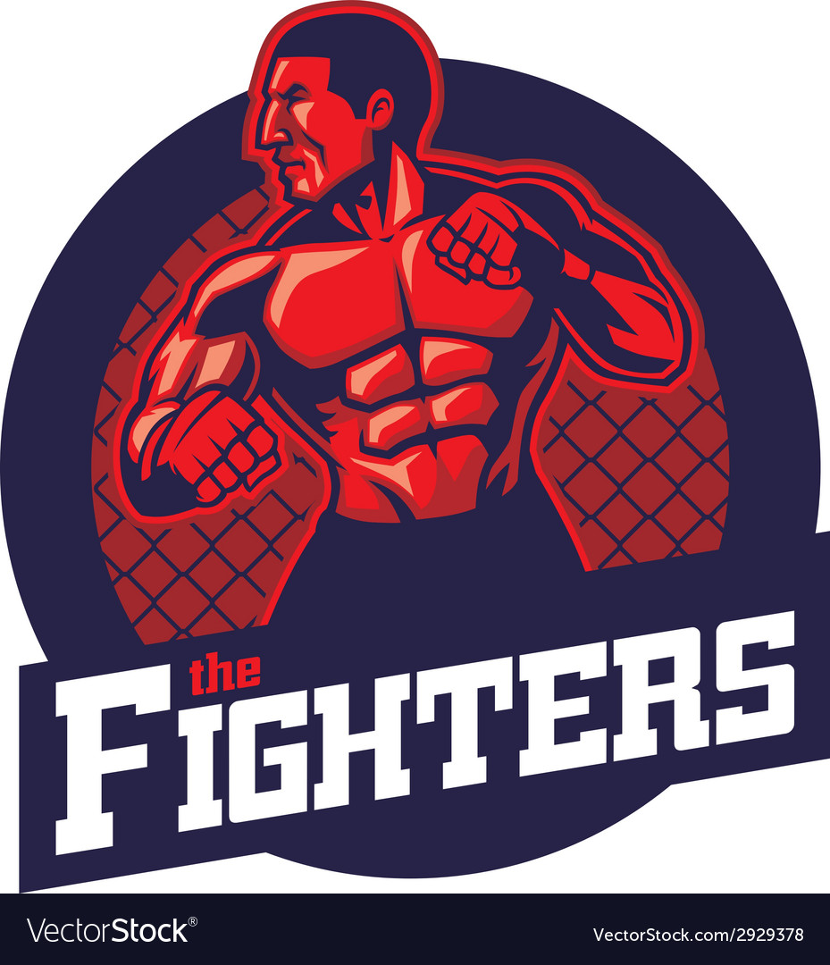 Mma fighter vector | Price: 3 Credit (USD $3)