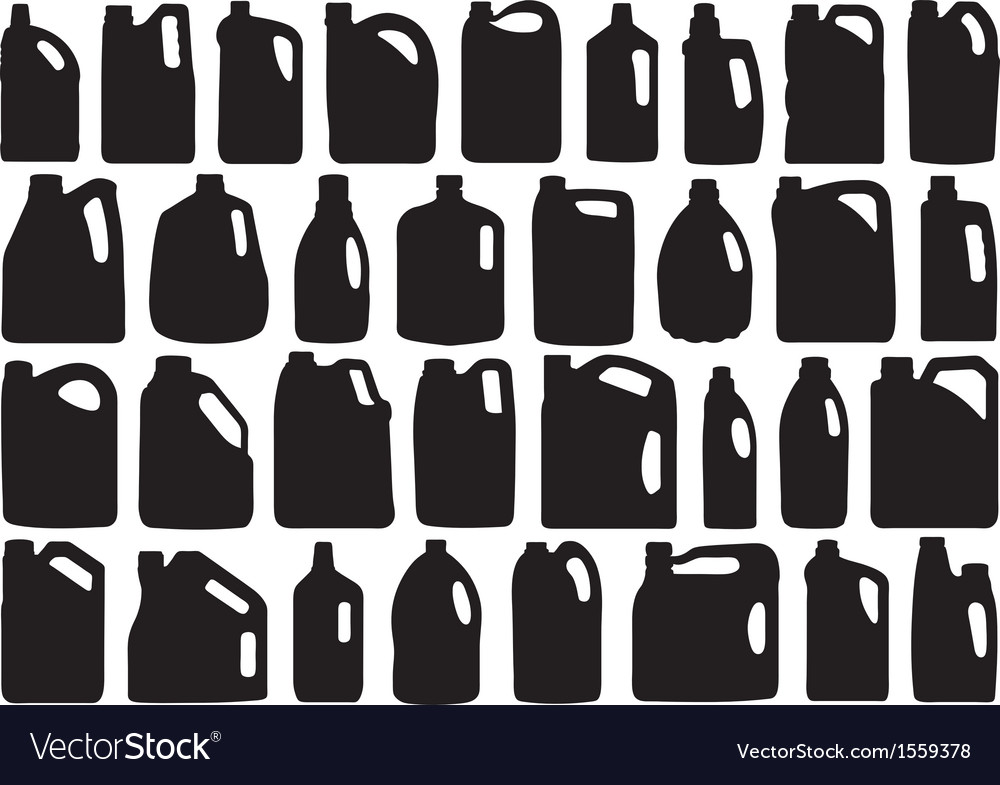 Set of different canisters vector | Price: 1 Credit (USD $1)