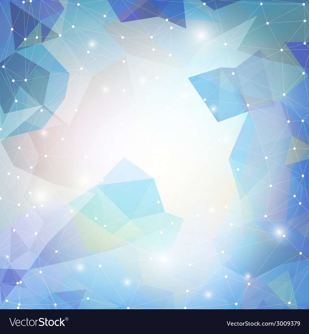 Abstract blue background triangle design vector   Price: 1 Credit (USD $1)