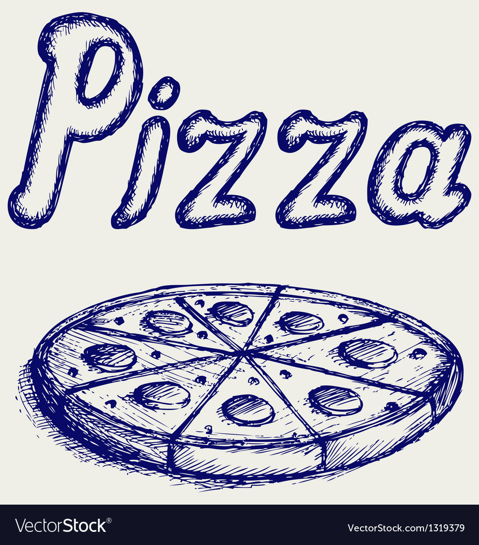 Pizzas vector | Price: 1 Credit (USD $1)