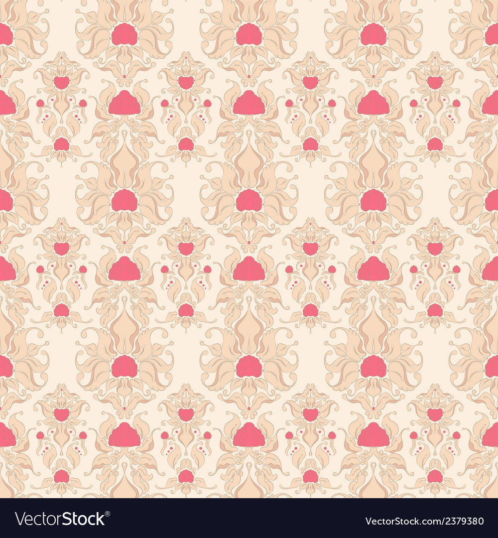 Beige retro pattern vector | Price: 1 Credit (USD $1)