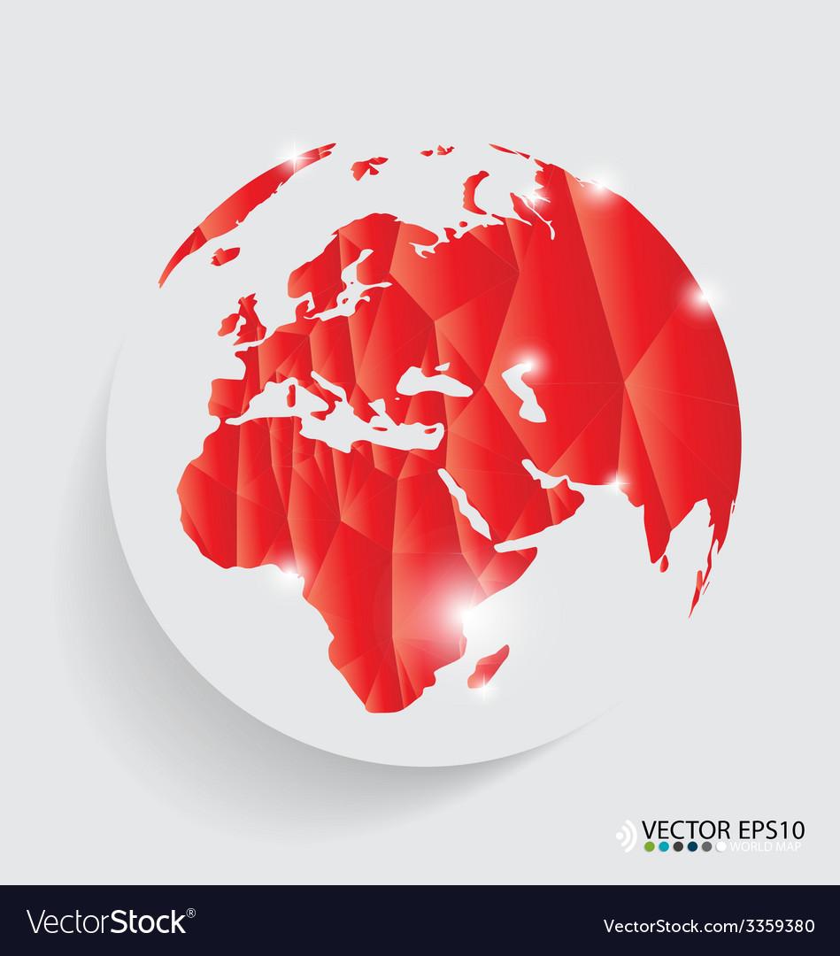 Modern globe design vector | Price: 1 Credit (USD $1)