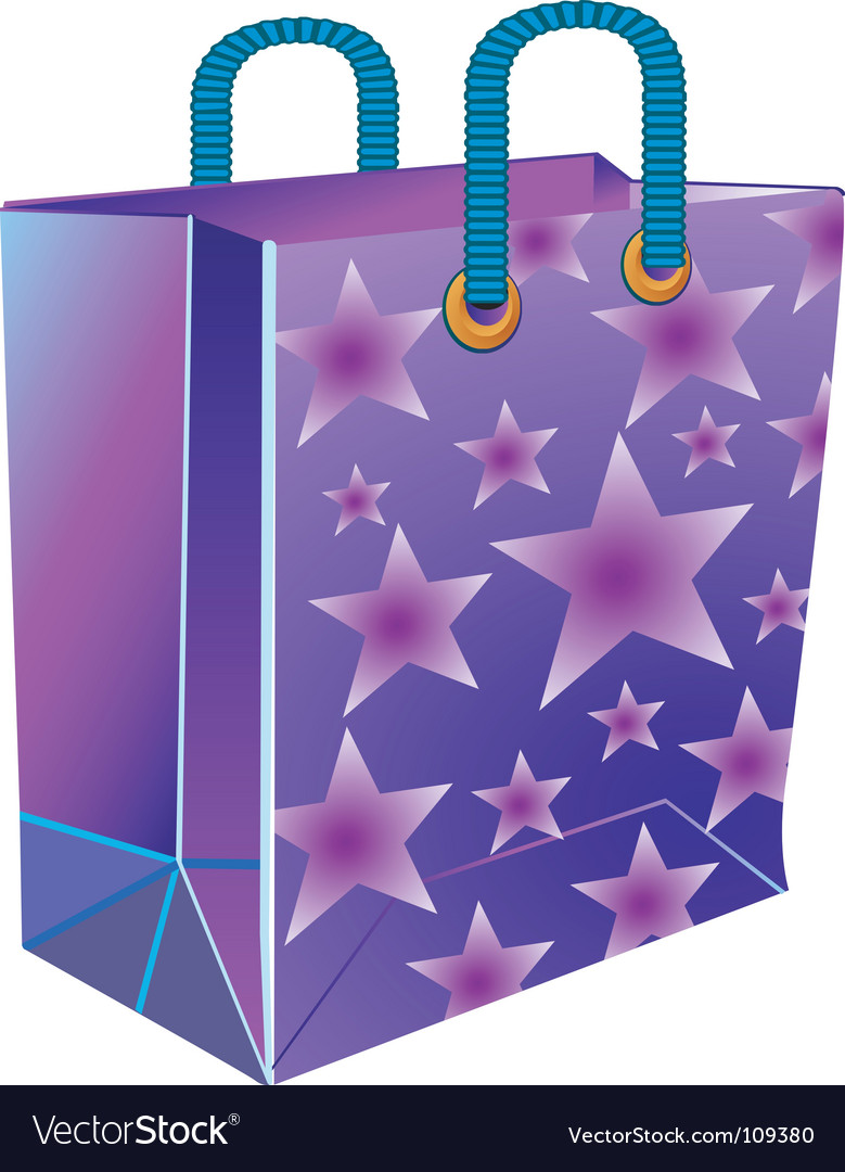 Package with star vector | Price: 1 Credit (USD $1)