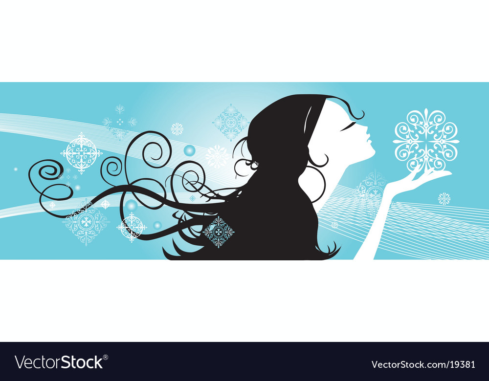 First snow vector | Price: 1 Credit (USD $1)