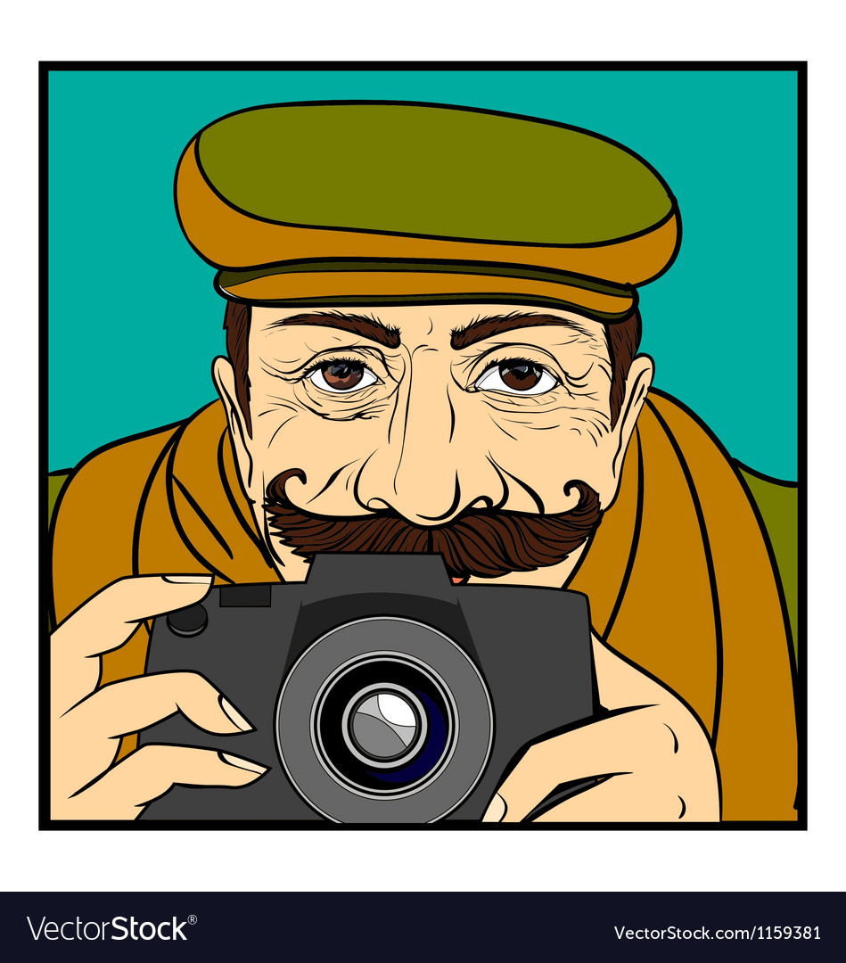 Photographer vector | Price: 3 Credit (USD $3)