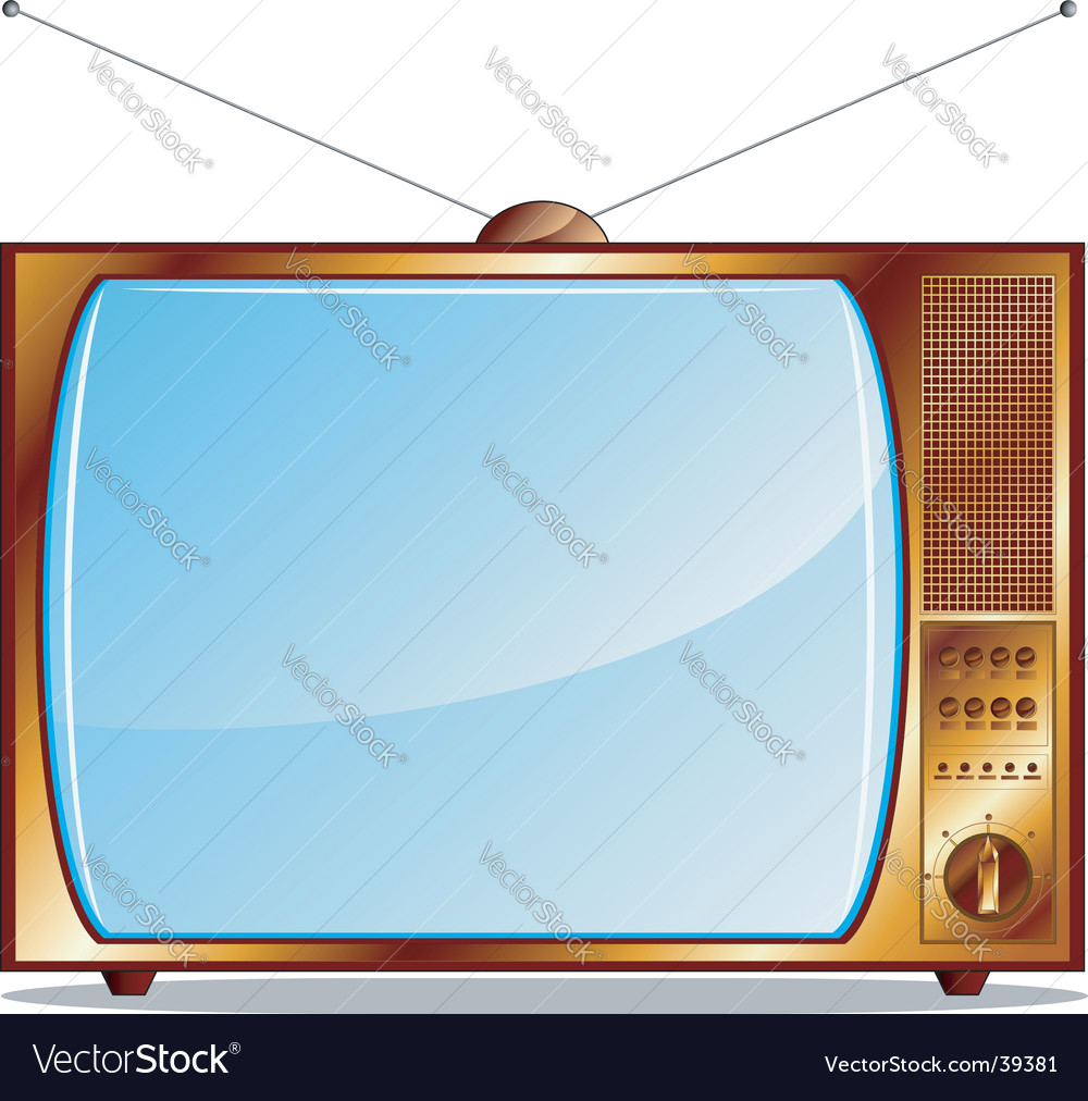 Tv render vector | Price: 1 Credit (USD $1)