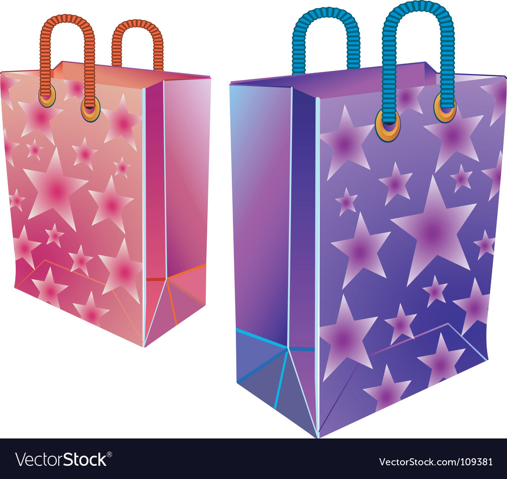 Two packages vector | Price: 1 Credit (USD $1)