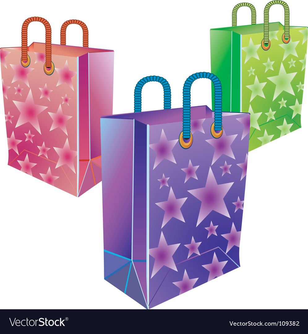 Three packages vector | Price: 1 Credit (USD $1)
