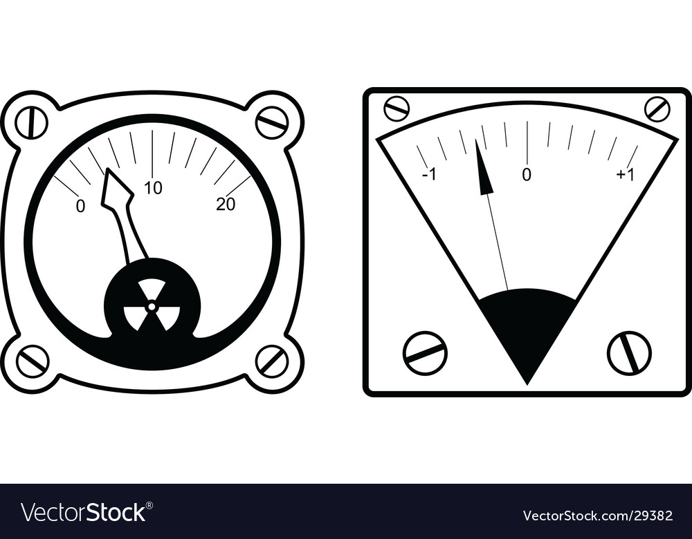 Two measuring instruments vector | Price: 1 Credit (USD $1)