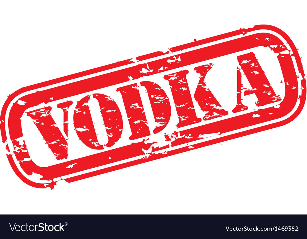 Vodka stamp vector | Price: 1 Credit (USD $1)