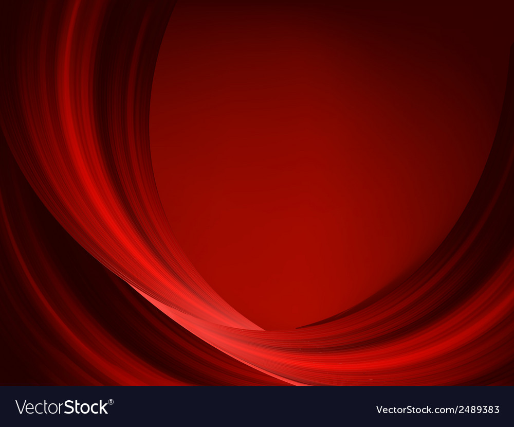 Abstract thin red lines on a dark eps 8 vector | Price: 1 Credit (USD $1)