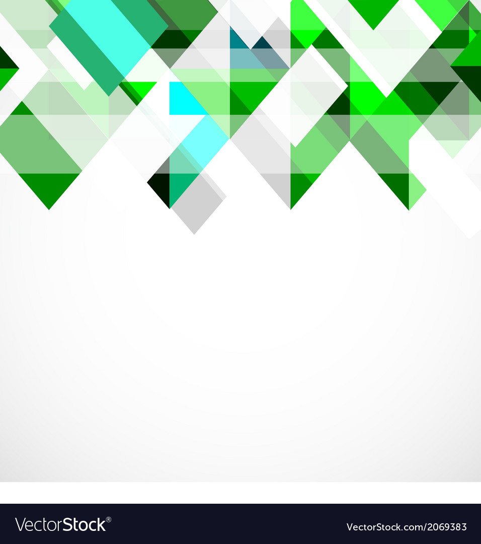 Modern green geometrical template vector | Price: 1 Credit (USD $1)