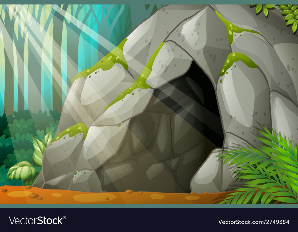 A cave vector | Price: 1 Credit (USD $1)