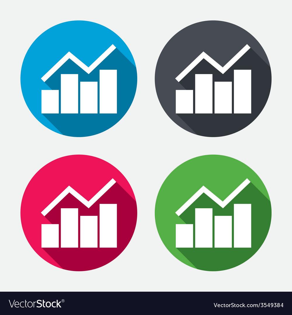 Graph chart sign icon diagram symbol vector   Price: 1 Credit (USD $1)