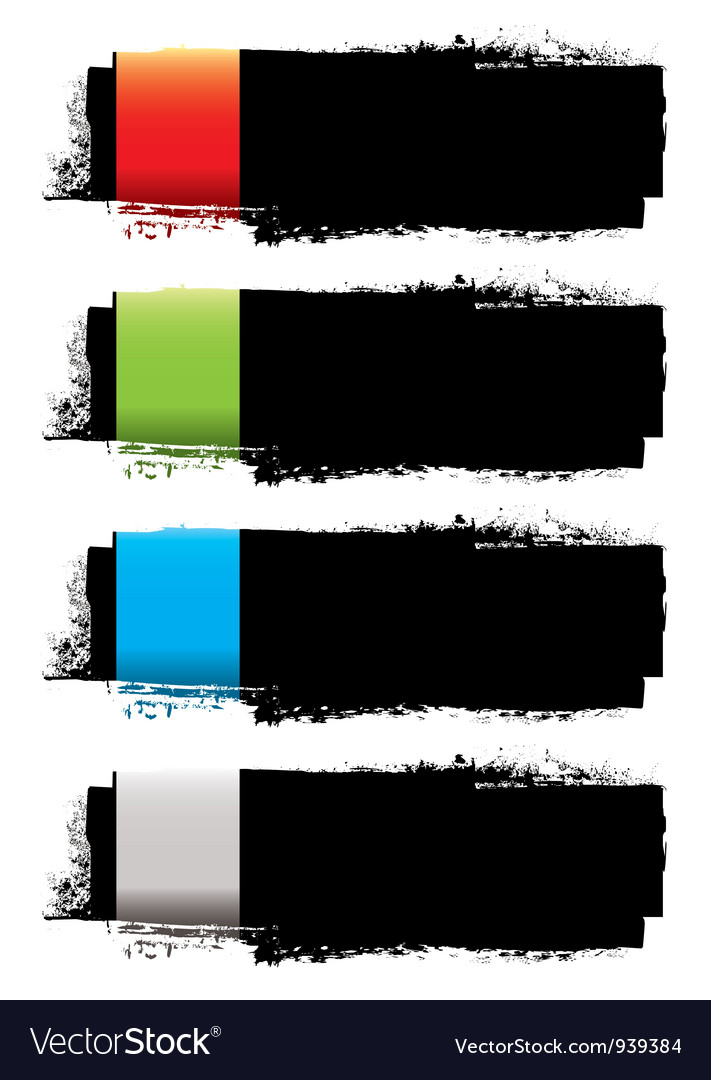 Grunge banner strip vector | Price: 1 Credit (USD $1)