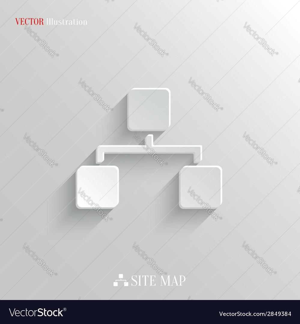 Network icon - white app button vector   Price: 1 Credit (USD $1)
